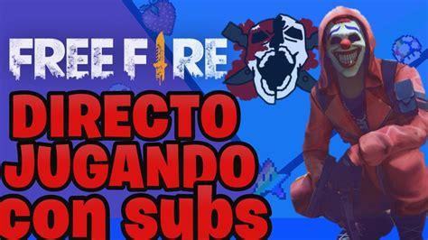 DIRECTO de Free Fire   YouTube