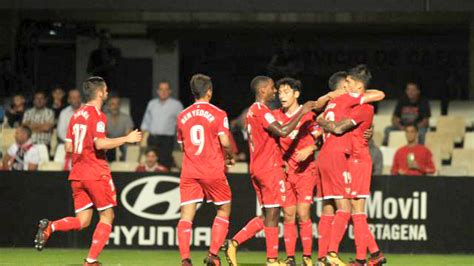 DIRECTO. FC Cartagena – Sevilla FC