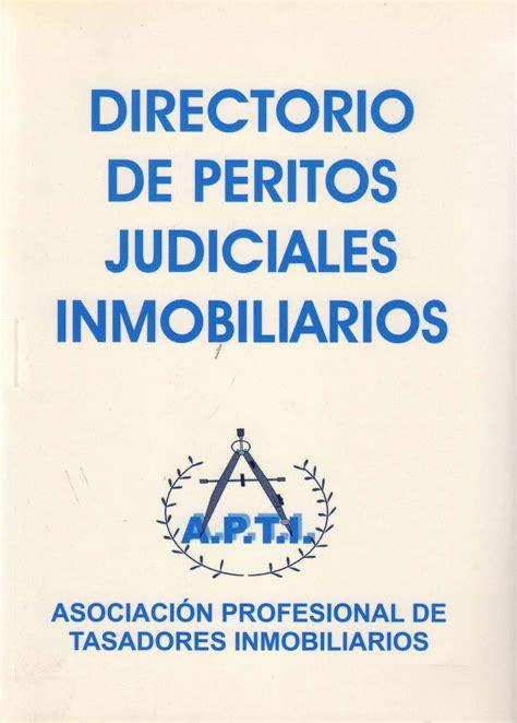DIRECTORIO DE PERITOS JUDICIALES INMOBILIARIOS   COAATG