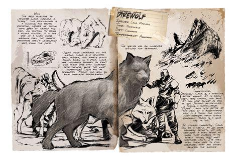Direwolf   Official ARK: Survival Evolved Wiki