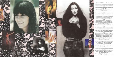 Discos Pop & Mas: Cher   Greatest Hits: 1965–1992  Booklet