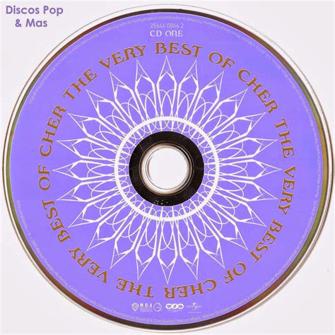 Discos Pop & Mas: Cher   The Very Best of Cher  Booklet