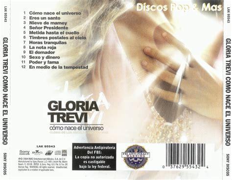 Discos Pop & Mas: Gloria Trevi   Como Nace el Universo
