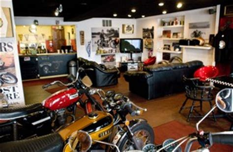 Discovery Channel s  Cafe Racer  show filming episode at ...
