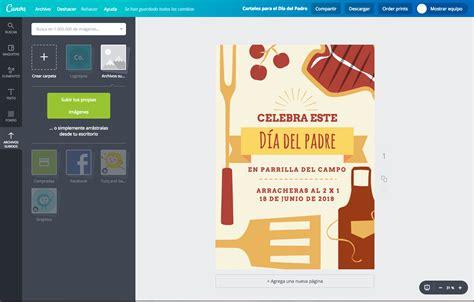 Diseña carteles para el Día del Padre online gratis   Canva