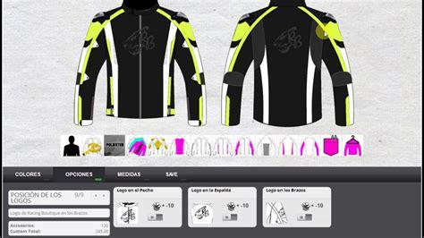 Diseñador online de Chaqueta de Motorista de Racing ...