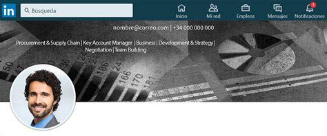 Diseño del fondo LinkedIn para tu perfil | Transmite tu ...