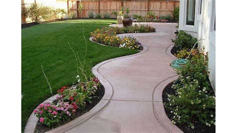 Diseño del jardín del patio trasero que adorna ideas para ...