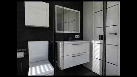 Diseño Interior: Cuartos de baño en Blanco y Negro   YouTube