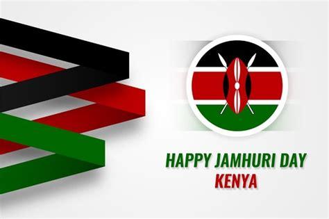 Diseño plano del día de la independencia de kenia | Vector ...