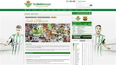 Diseño web Betis | Marketing online