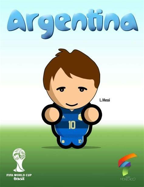 #DiseñoGráfico #Messi #Argentina #Brasil2014 http://www ...