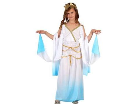 Disfraz de griega azul niña Talla 1  3 – 4 años