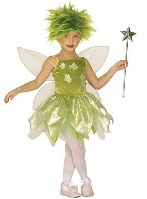 Disfraz de Hada diminuta verde para niña | Comprar ...