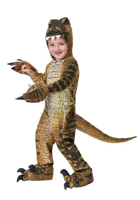 Disfraz de Velociraptor para niños pequeños