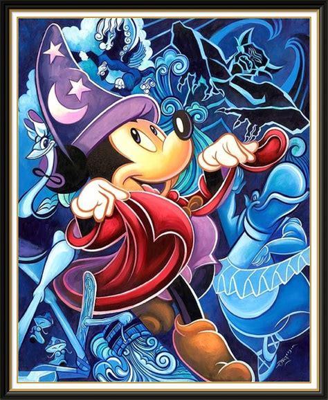 Disney Art   Fantasia Mickey | Never too much Disney ...