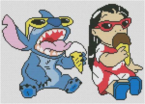 Disney cross stitch pattern lilo and stitch cross stitch ...
