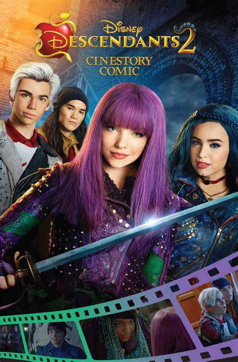 Disney Descendants 2 Cinestory Comic | Descendientes 2 ...