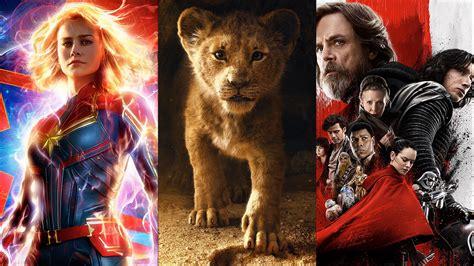 Disney tendrá prácticamente un estreno por mes en 2019 ...