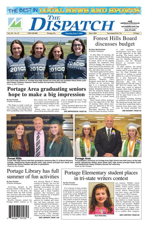 Dispatch 6 7 18 by Mainline Newspapers   Issuu