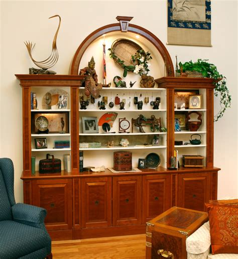 Display cabinet   Traditional   Living Room   other metro ...