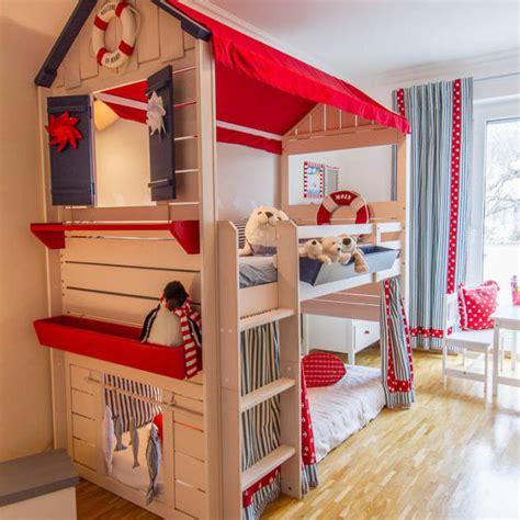 Divertidas habitaciones infantiles con literas