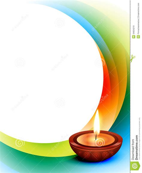 Diwali Wave Vector Royalty Free Stock Images   Image: 34654219