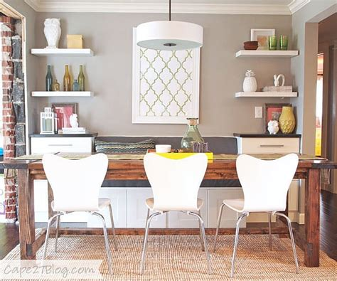 DIY a Cozy Dining Banquette | Ikea Kitchen Cabinets ...