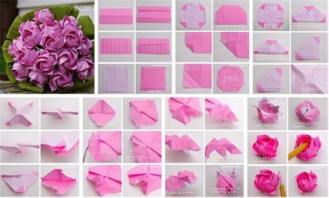 DIY Beautiful Origami Paper Roses | UsefulDIY.com