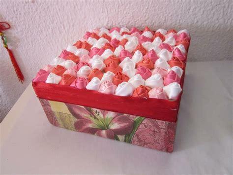 DIY Caja decorada para regalar el dia de los enamorados ...