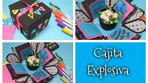 DIY // Cajita explosiva, regalo fácil y bonito para tu ...