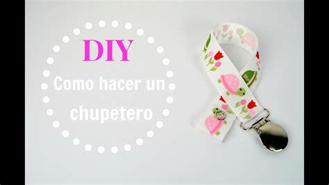 Diy   Cómo hacer un chupetero / Pacifier clip tutorial ...