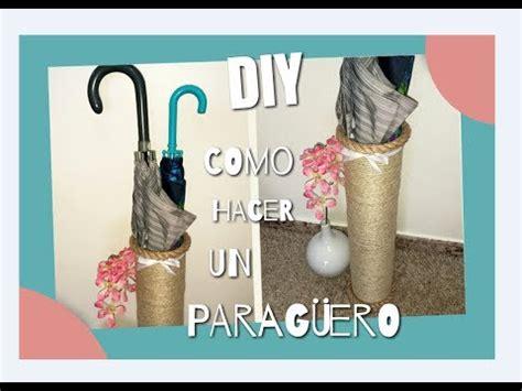 DIY Como hacer un paragüero reciclando latas y cuerda ...