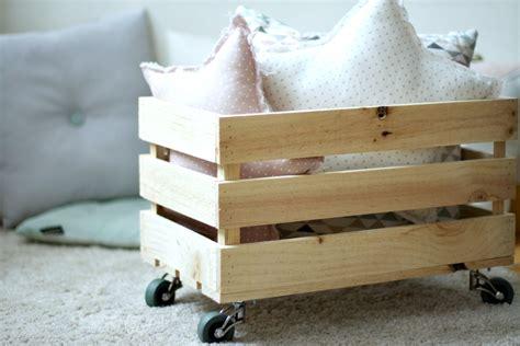 DIY Cómo hacer una caja de madera para los juguetes | el ...