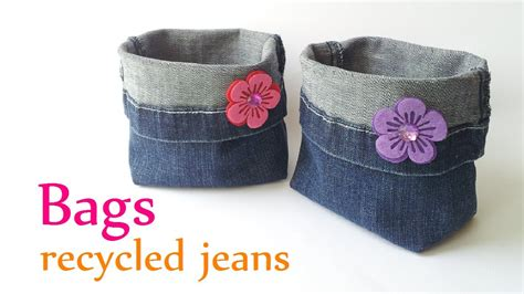 DIY crafts: BAGS recycled jeans  very EASY    Innova ...