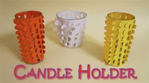 DIY Crafts: Candle holder  Very Easy   Ana   DIY Crafts ...