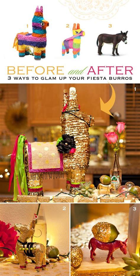 {DIY Decor} 3 Ways to Glam Up Your Fiesta Burros ...