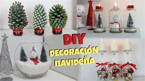 DIY | DECORACIÓN DE NAVIDAD | 4 IDEAS | NatyGloss   YouTube