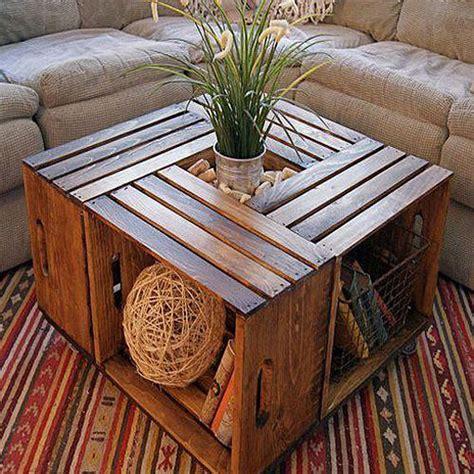 DIY en un trix: crea tus muebles con cajas de madera ...