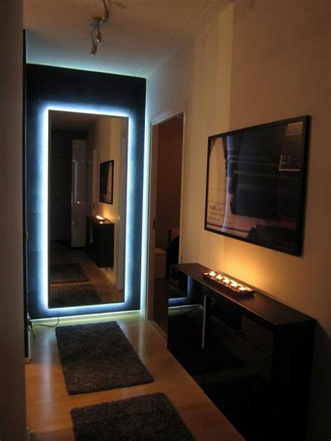 DIY Hovet mirror with lights in 2019 | Home lighting, Home ...