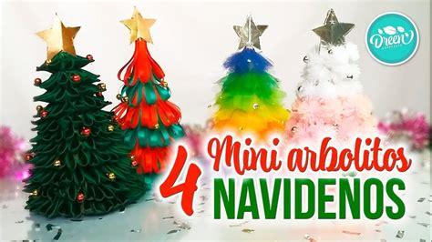 DIY Mini arbolitos navideños parte 1| DREEN NAVIDAD   YouTube