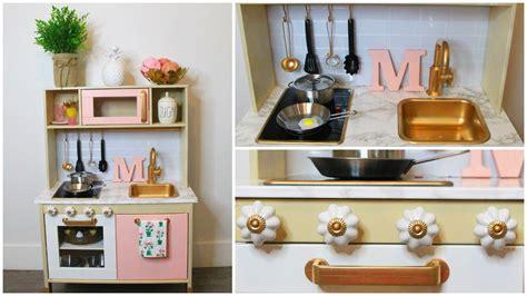 DIY  MODERN IKEA PLAY KITCHEN HACK!   YouTube