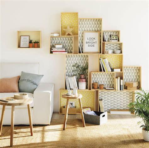 DIY muebles con cajas de madera vintage