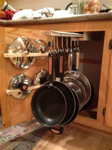 DIY Pot Rack With Pipes From Home Depot | Diy kitchen, Diy ...