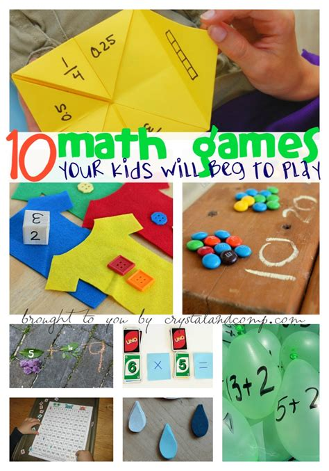 DIY Reading and Math Games for Kids