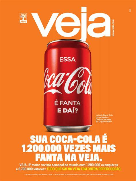 DM9 e Veja pegam carona em ação da DAVID para a Coca Cola ...