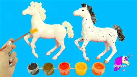 Do It Yourself Painting A Blank Model Horse Play Acrylic ...