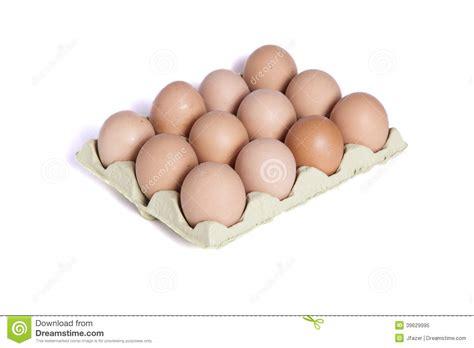 Doce Huevos En Cartulina De Docena Huevos Imagen de ...
