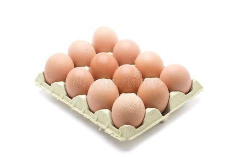 Docena cartones de huevos foto de archivo. Imagen de pollo ...