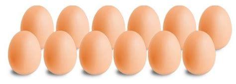 Docenas de huevos... ¿Por qué no decenas ...